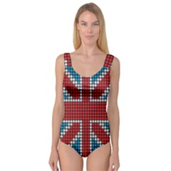 The Flag Of The Kingdom Of Great Britain Princess Tank Leotard