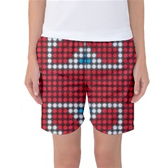 The Flag Of The Kingdom Of Great Britain Women s Basketball Shorts