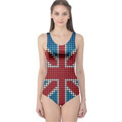 The Flag Of The Kingdom Of Great Britain One Piece Swimsuit