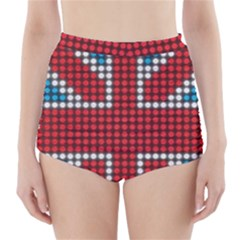 The Flag Of The Kingdom Of Great Britain High Waisted Bikini Bottoms