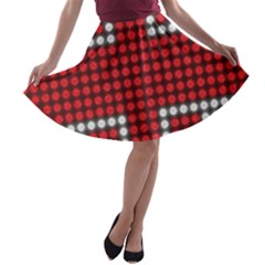 The Flag Of The Kingdom Of Great Britain A-line Skater Skirt
