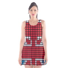 The Flag Of The Kingdom Of Great Britain Scoop Neck Skater Dress