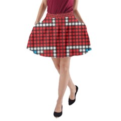 The Flag Of The Kingdom Of Great Britain A-Line Pocket Skirt
