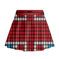 The Flag Of The Kingdom Of Great Britain Mini Flare Skirt