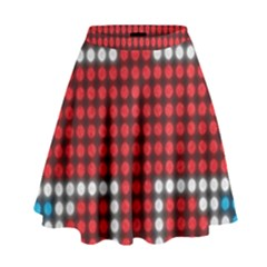 The Flag Of The Kingdom Of Great Britain High Waist Skirt