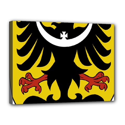 Silesia Coat of Arms  Canvas 16  x 12