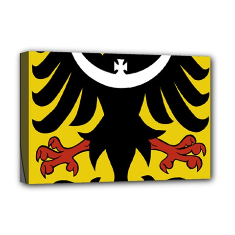 Silesia Coat of Arms  Deluxe Canvas 18  x 12