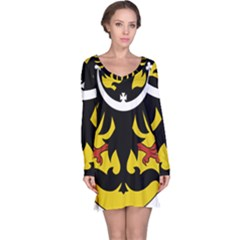 Silesia Coat of Arms  Long Sleeve Nightdress