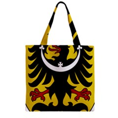 Silesia Coat of Arms  Zipper Grocery Tote Bag