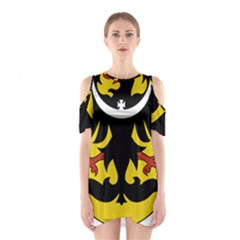 Silesia Coat of Arms  Shoulder Cutout One Piece