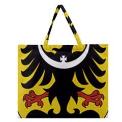 Silesia Coat of Arms  Zipper Large Tote Bag