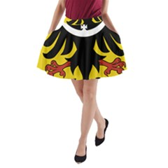 Silesia Coat of Arms  A-Line Pocket Skirt