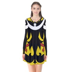 Silesia Coat of Arms  Flare Dress