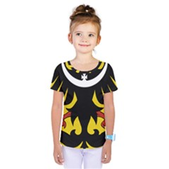Silesia Coat of Arms  Kids  One Piece Tee