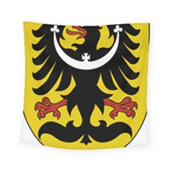 Silesia Coat of Arms  Square Tapestry (Small)