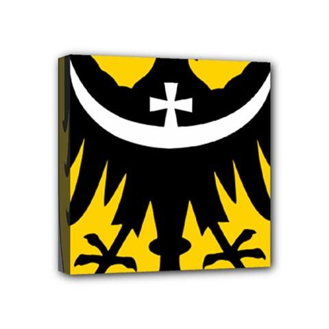 Silesia Coat of Arms  Mini Canvas 4  x 4