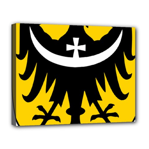 Silesia Coat of Arms  Canvas 14  x 11