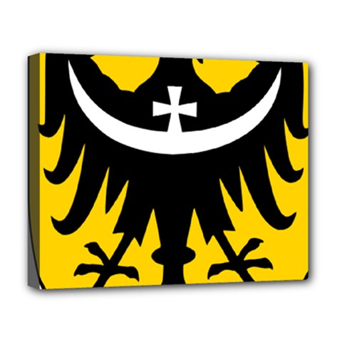 Silesia Coat of Arms  Deluxe Canvas 20  x 16