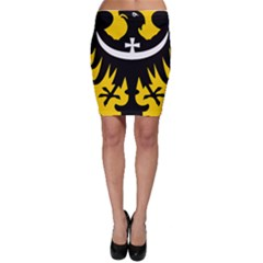Silesia Coat of Arms  Bodycon Skirt