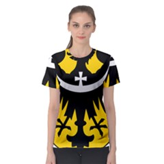 Silesia Coat of Arms  Women s Sport Mesh Tee