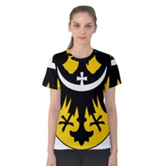 Silesia Coat of Arms  Women s Cotton Tee