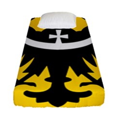 Silesia Coat of Arms  Fitted Sheet (Single Size)