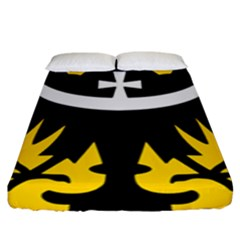 Silesia Coat of Arms  Fitted Sheet (King Size)