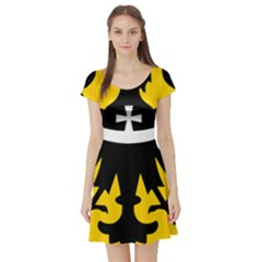 Silesia Coat of Arms  Short Sleeve Skater Dress