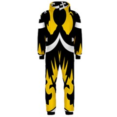 Silesia Coat of Arms  Hooded Jumpsuit (Men)