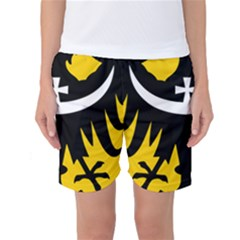 Silesia Coat of Arms  Women s Basketball Shorts
