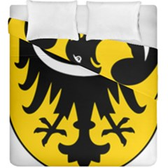 Silesia Coat of Arms  Duvet Cover Double Side (King Size)