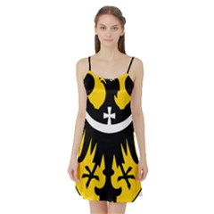Silesia Coat of Arms  Satin Night Slip