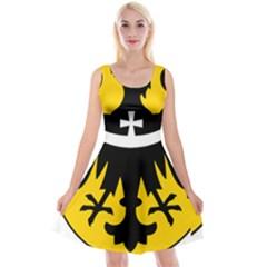 Silesia Coat of Arms  Reversible Velvet Sleeveless Dress