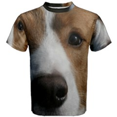 Red Border Collie Men s Cotton Tee