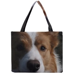 Red Border Collie Mini Tote Bag