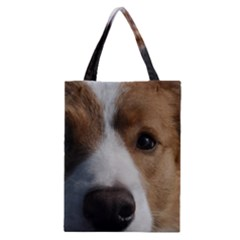 Red Border Collie Classic Tote Bag