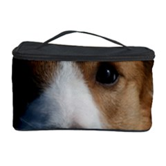 Red Border Collie Cosmetic Storage Case