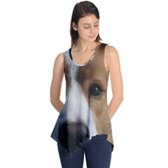 Red Border Collie Sleeveless Tunic