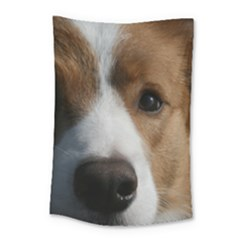 Red Border Collie Small Tapestry
