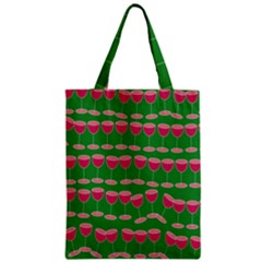 Wine Red Champagne Glass Red Wine Classic Tote Bag