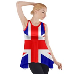 Union Jack Flag Side Drop Tank Tunic