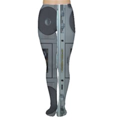 Vintage Tape Recorder Women s Tights