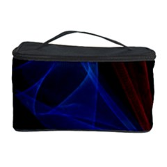 Lines Rays Background Light Pattern Cosmetic Storage Case