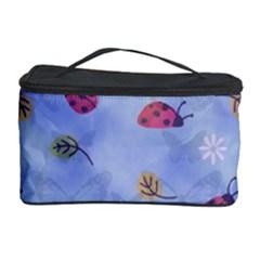 Ladybug Blue Nature Cosmetic Storage Case