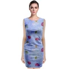 Ladybug Blue Nature Classic Sleeveless Midi Dress