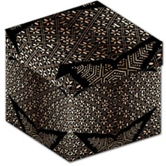 Art Background Fabric Storage Stool 12