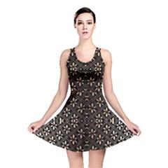 Art Background Fabric Reversible Skater Dress
