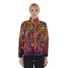 Abstract Flowers Floral Decorative Winterwear