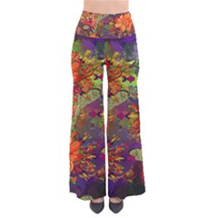 Abstract Flowers Floral Decorative Pants