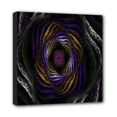 Abstract Fractal Art Mini Canvas 8  x 8